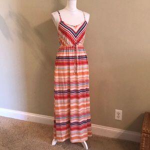 Mossimo striped maxi dress.  Size Small.